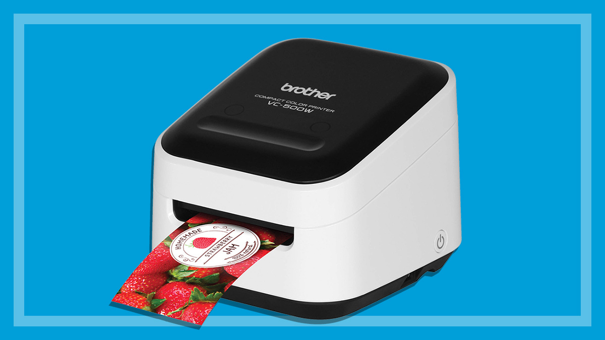 Brother VC-500W colour label printer review - CHOICE