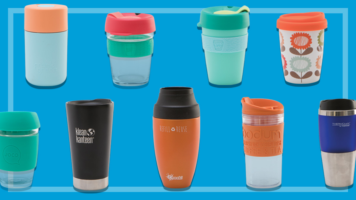 Best BYO reusable coffee cups - CHOICE